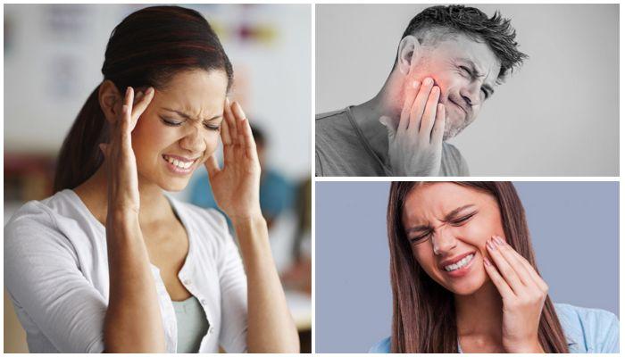 Фото головной боли, боли в челюстях, в зубах