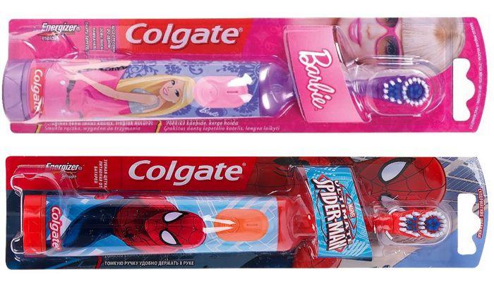 Электрическая щетка Колгейт для детей