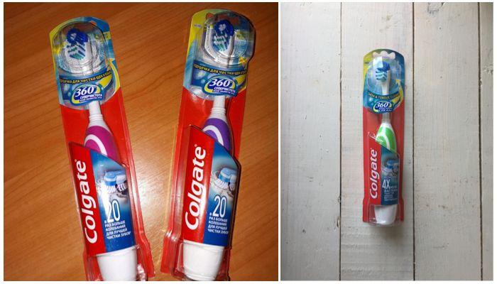 Электрическая зубная щетка Колгейт 360