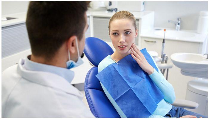 Консультация терапевта-стоматолога