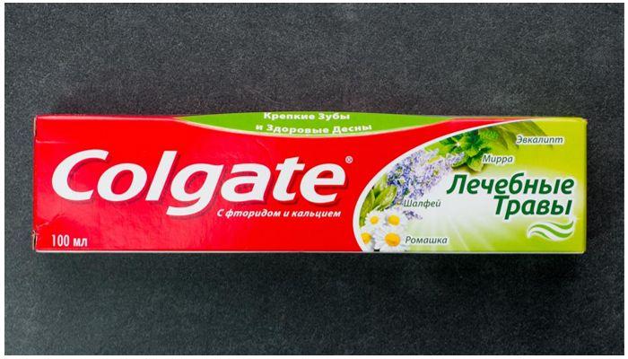 Зубные пасты Colgate Лечебные травы