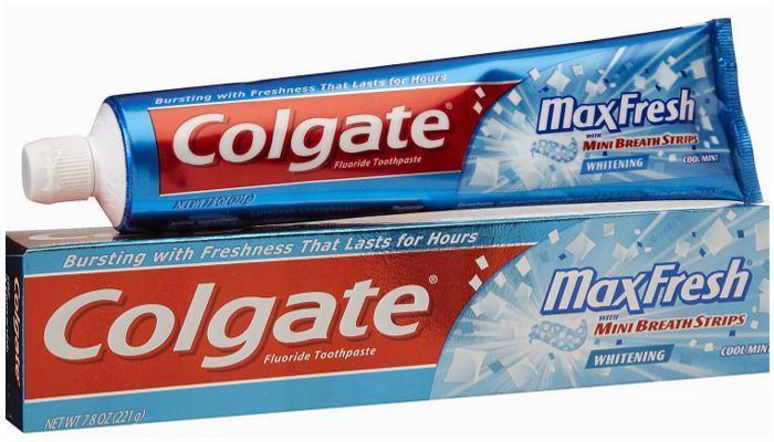 Зубные пасты Colgate Max Fresh