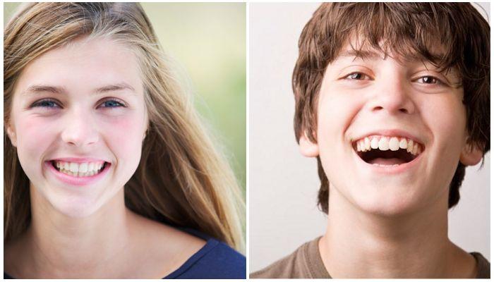 Фото зубов у детей старше 12 лет