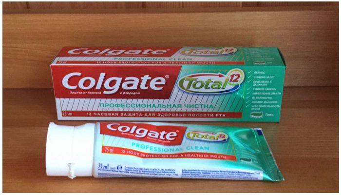 Colgate Total 12 профессиональная чистка