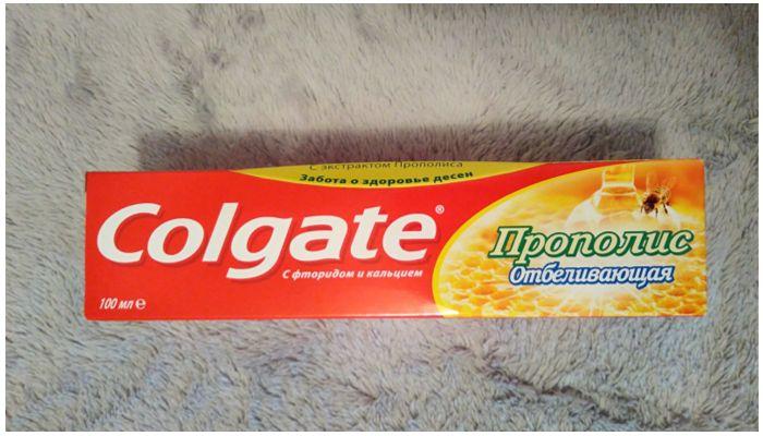 Зубные пасты Колгейт Прополис