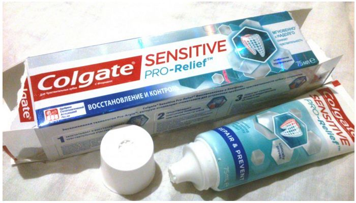 Паста Colgate Sensitive Pro Relief