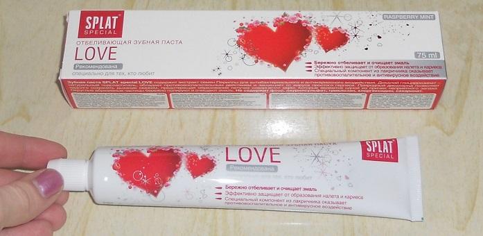 Зубная паста Сплат Love