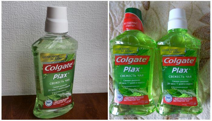 Ополаскиватель Colgate Plax Свежесть чая