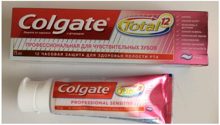 Зубная паста Колгейт Тотал 12