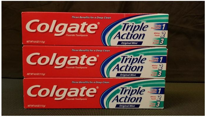 Зубная паста Colgate Triple Action