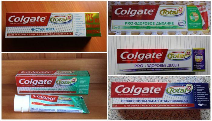Аналоги зубной пасты Колгейт Тотал Про видимый эффект