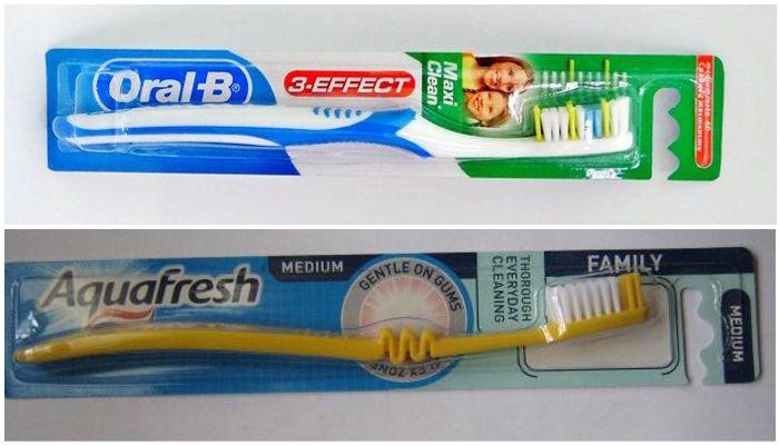 Аналоги зубной щетки Колгейт Зигзаг