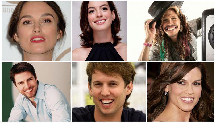 Знаменитости с большими зубами